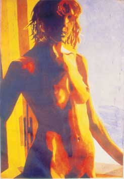 Nude Three-color Etching  Cost: $1,750 unframed, $2,200 framed